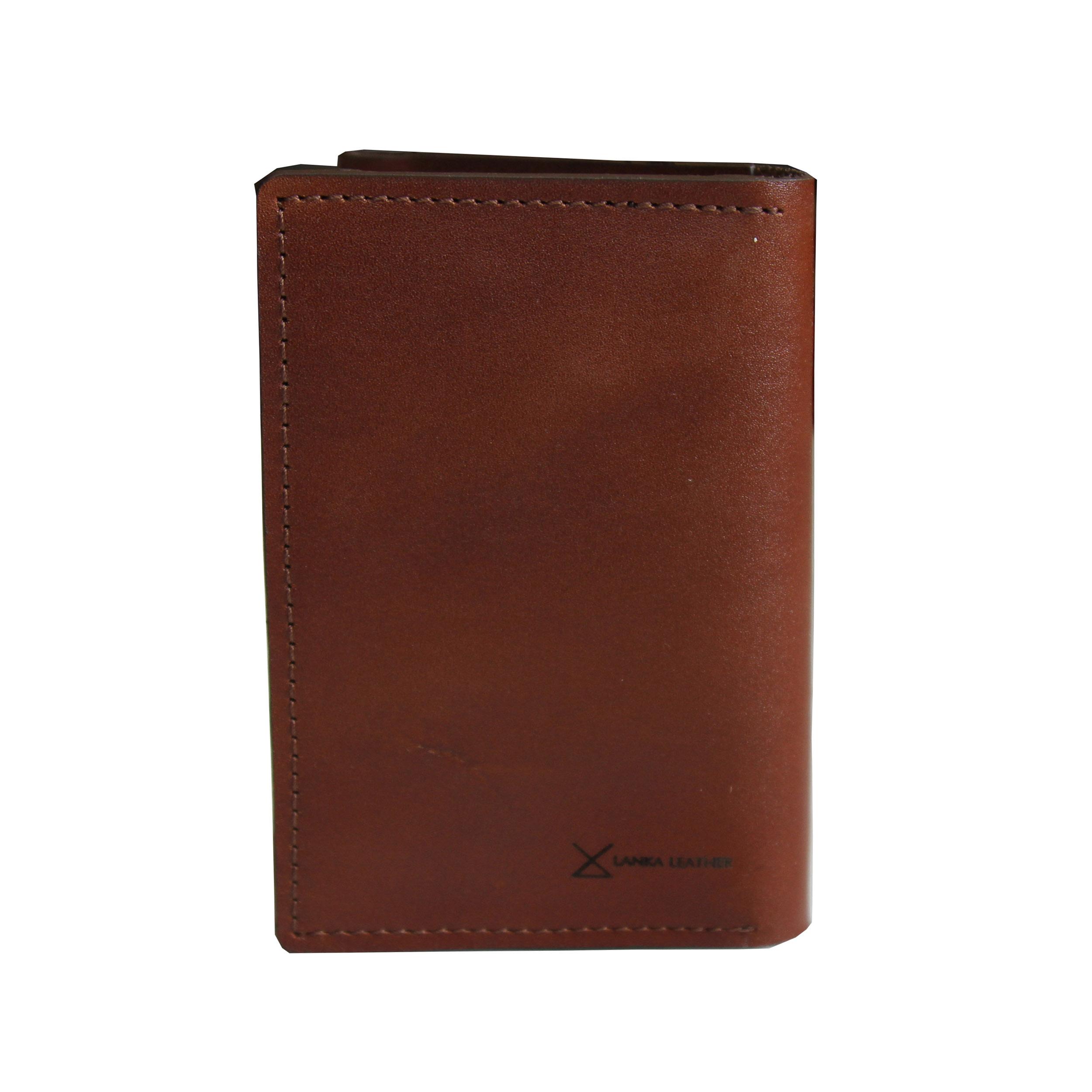 کیف پاسپورت چرم لانکا مدل PC-1
