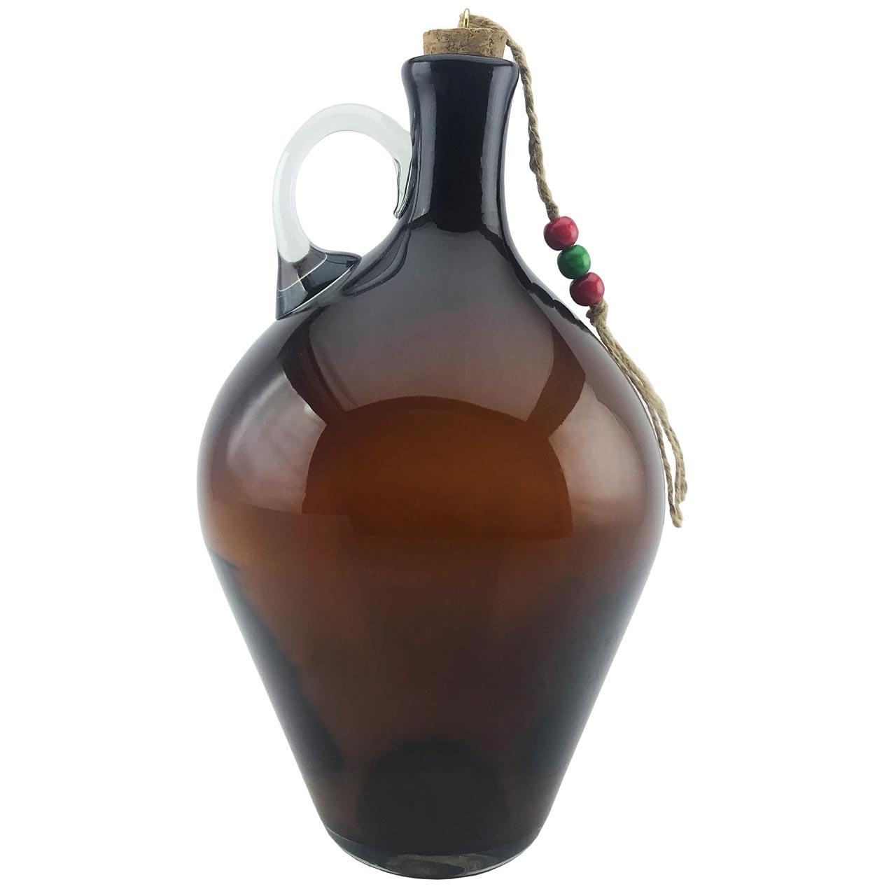 بطری شیشه ای طرح کوزه ای کد 617