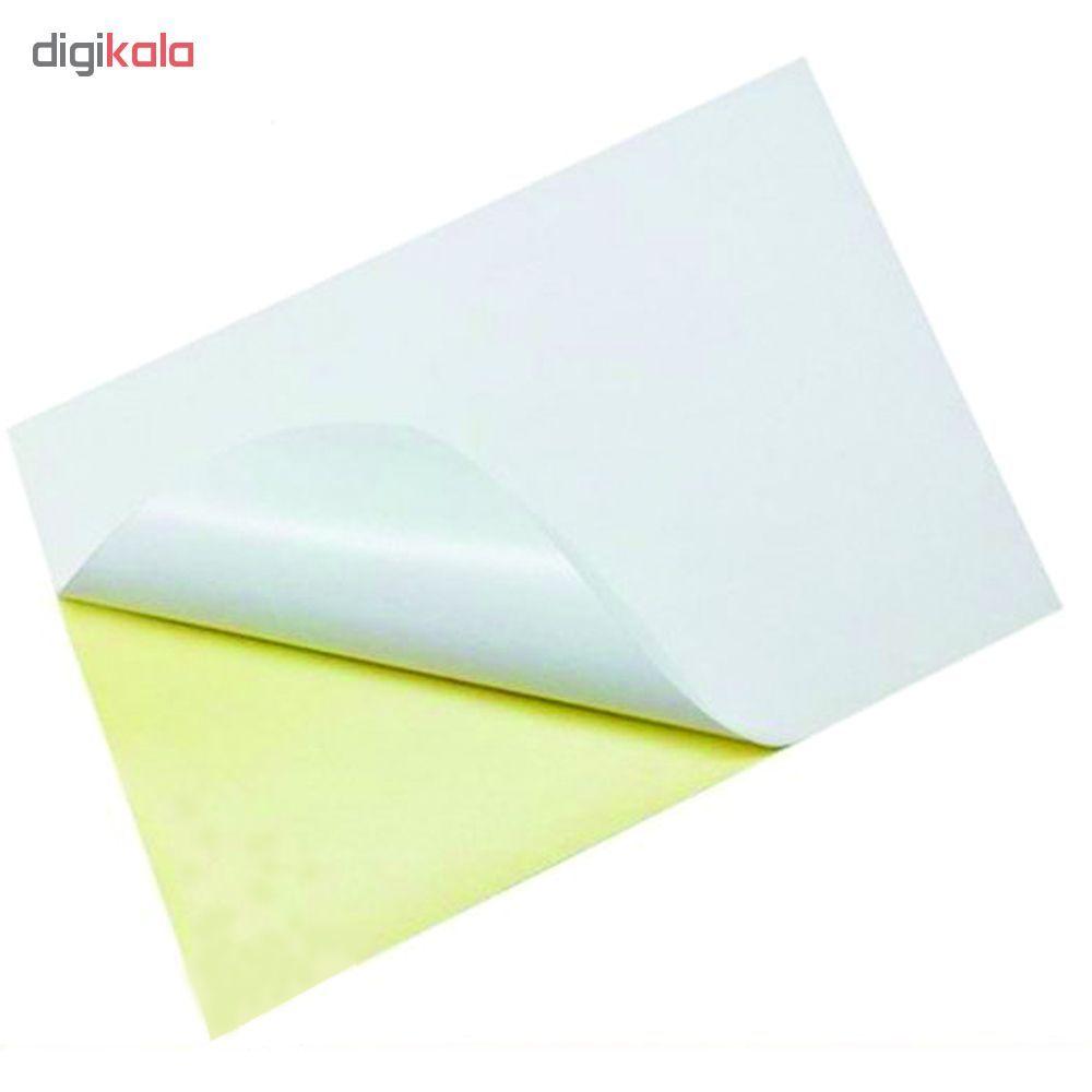 کاغذ A4 پشت چسبدار کد M2000 بسته 100 عددی main 1 1