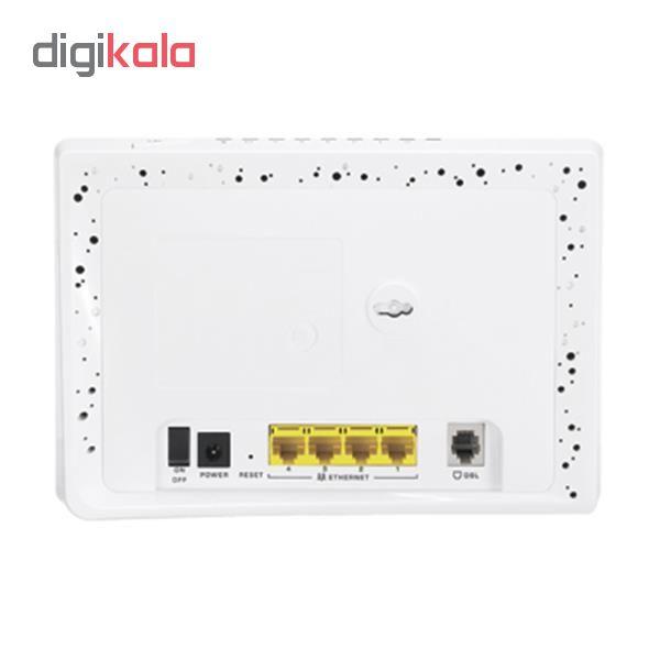 مودم-روتر +ADSL2 زایکسل مدل P-660HN-T1H