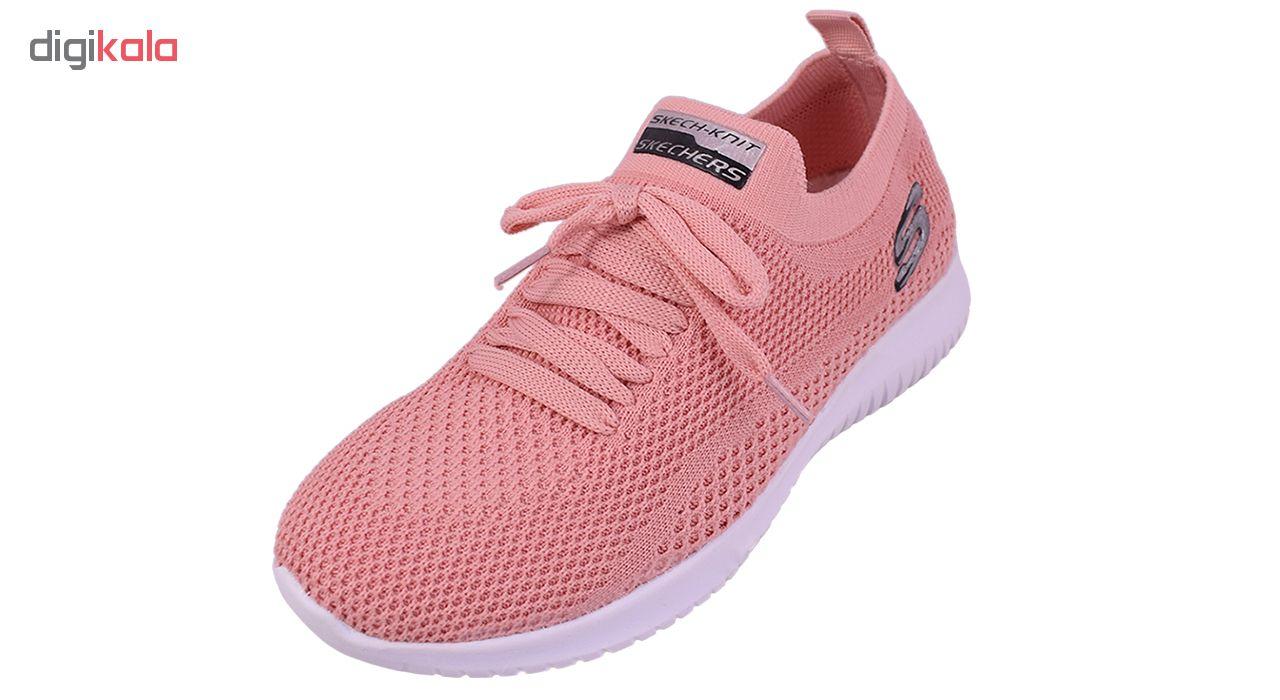 کفش مخصوص پیاده روی زنانه مدل Walking4 کد 3481-aaaak  رنگ گلبهی