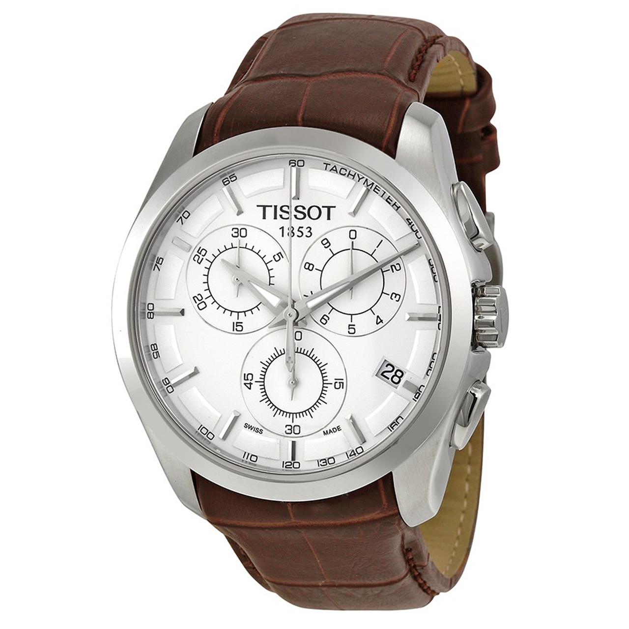 ساعت مچی عقربه ای مردانه مدل T0356171603100              خرید (⭐️⭐️⭐️)