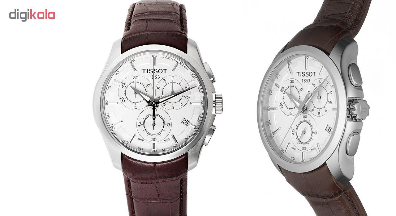 ساعت مچی عقربه ای مردانه مدل T0356171603100