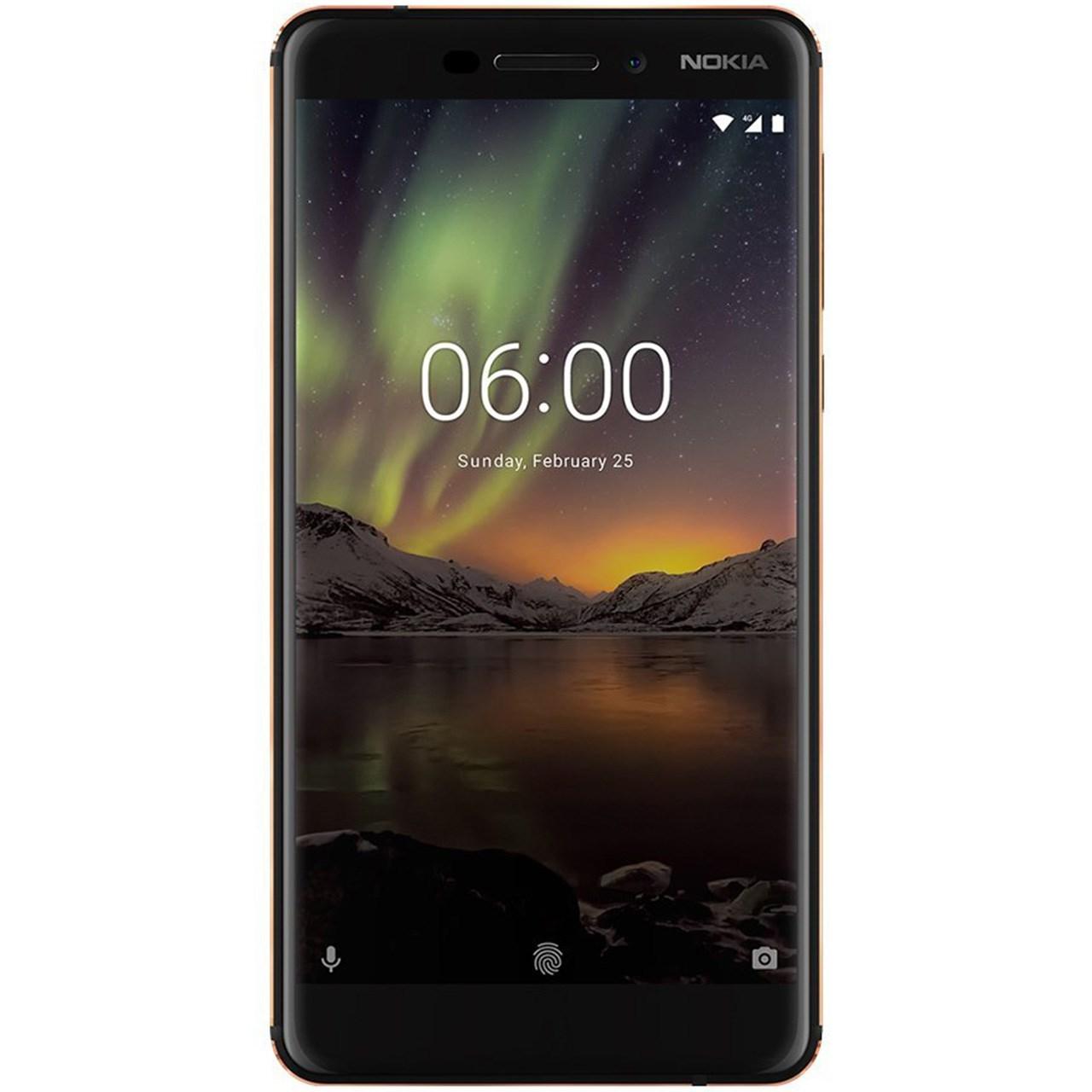 گوشی موبایل نوکیا مدل 6.1 دو سیم کارت ظرفیت 32 گیگابایت - با قیمت ویژه