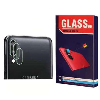 محافظ لنز دوربین Hard and thick مدل F-01 مناسب برای گوشی موبایل سامسونگ Galaxy A30 بسته 2 عددی