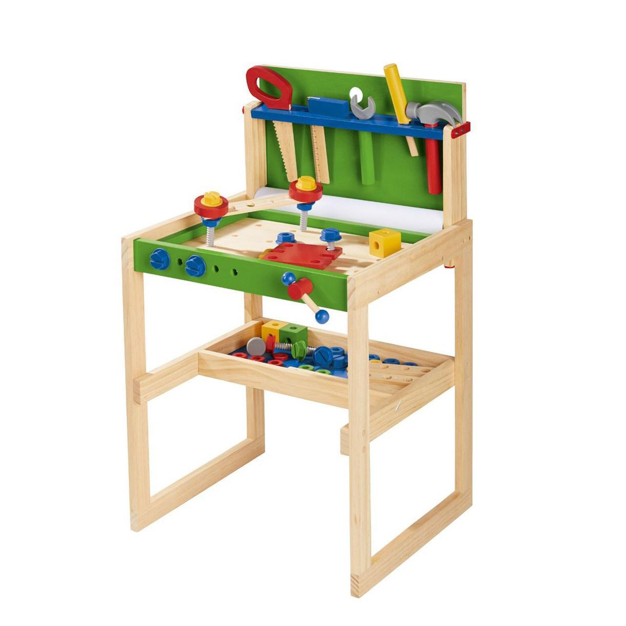 میزکار چوبی کودک  مدل WerkBank