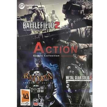 مجموعه بازی action games collection 4 مخصوص pc نشر پرنیان