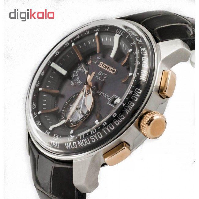ساعت مچی عقربه ای مردانه سیکو  مدل  SAS038J1