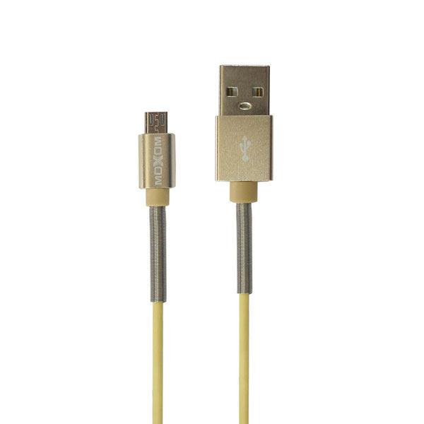 کابل تبدیل USB به microUSB موکسوم مدل CC-12 طول 1 متر