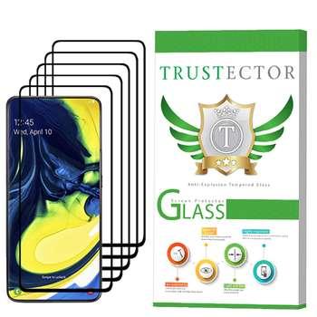 محافظ صفحه نمایش تراستکتور مدل GSS مناسب برای گوشی موبایل سامسونگ Galaxy A80 بسته 5 عددی
