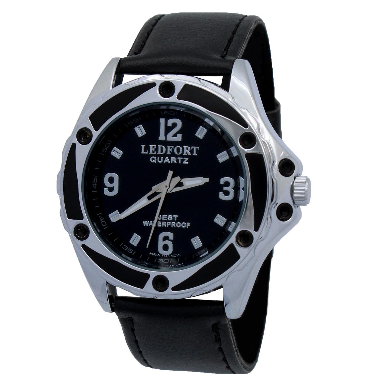 ساعت مچی عقربه ای مردانه لدفورت مدل DGMU-0227