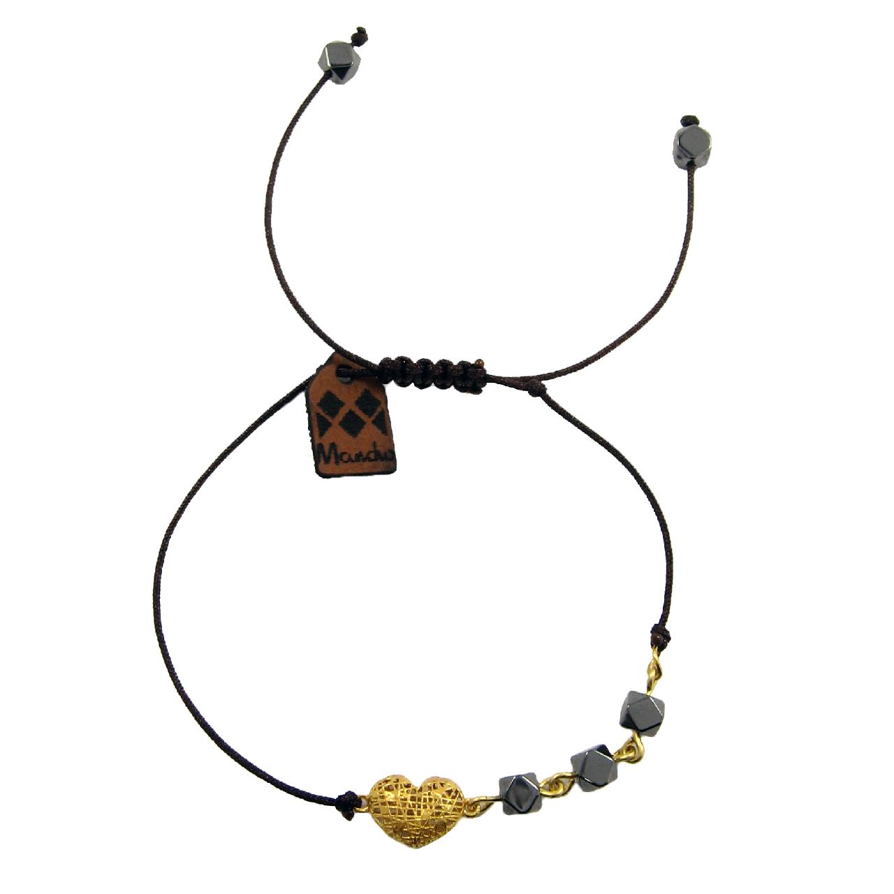 قیمت دستبند طلا 18عیار زنانه مانچو مدل bfg141