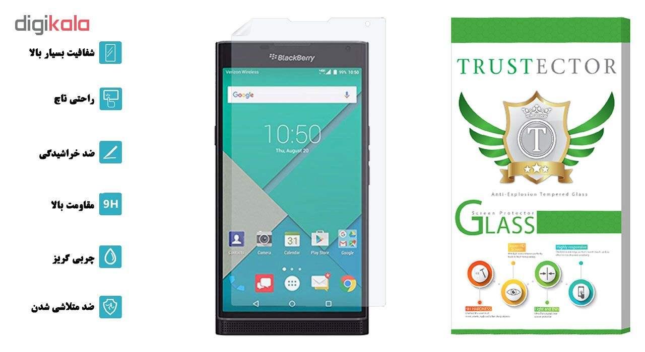محافظ صفحه نمایش تراستکتور مدل GNF مناسب برای گوشی موبایل بلک بری Priv main 1 2