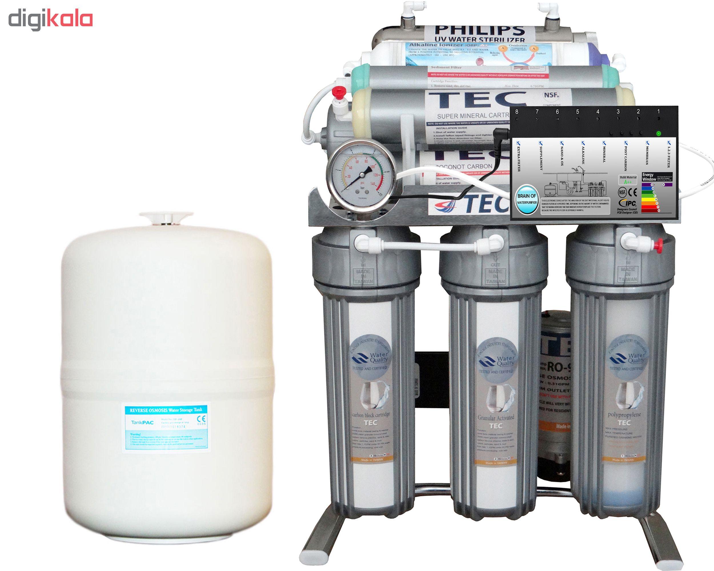 دستگاه تصفیه کننده آب تک مدل CHROME2019-AXT8400