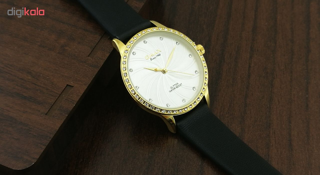 ساعت مچی عقربه ای زنانه اوماکس مدل GT007G62