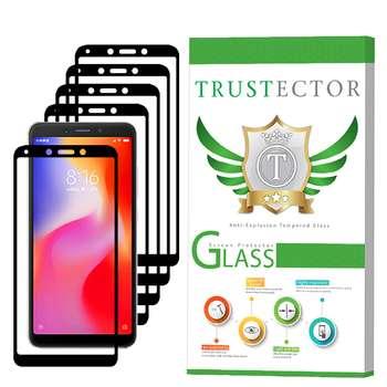 محافظ صفحه نمایش تراستکتور مدل GSS مناسب برای گوشی موبایل شیائومی Redmi 6 / 6A بسته 5 عددی