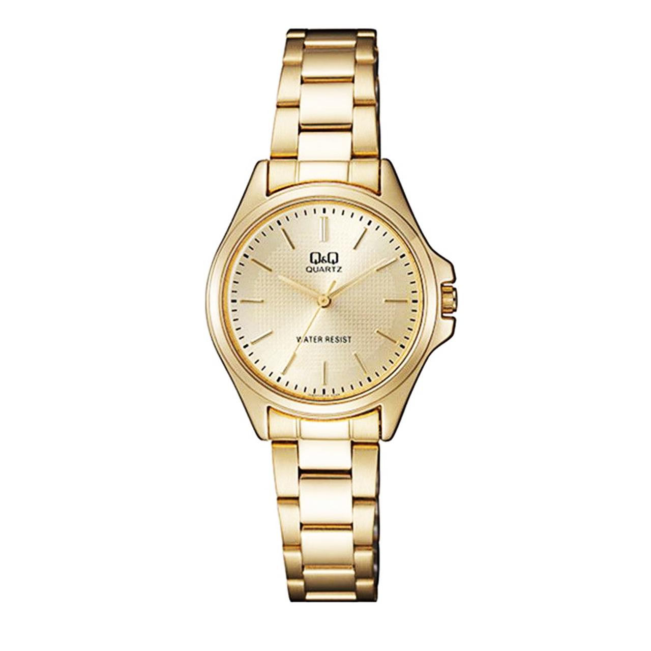 ساعت مچی عقربه ای زنانه کیو اند کیو مدل qa07j010y