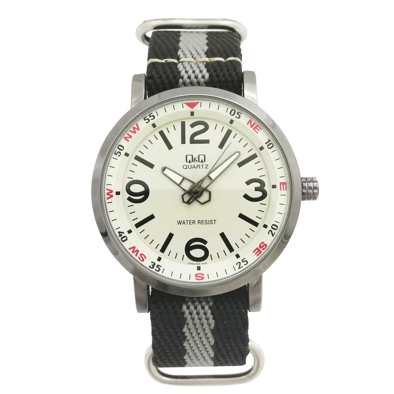 ساعت مچی عقربه ای مردانه کیو اند کیو مدل QP92J503Y