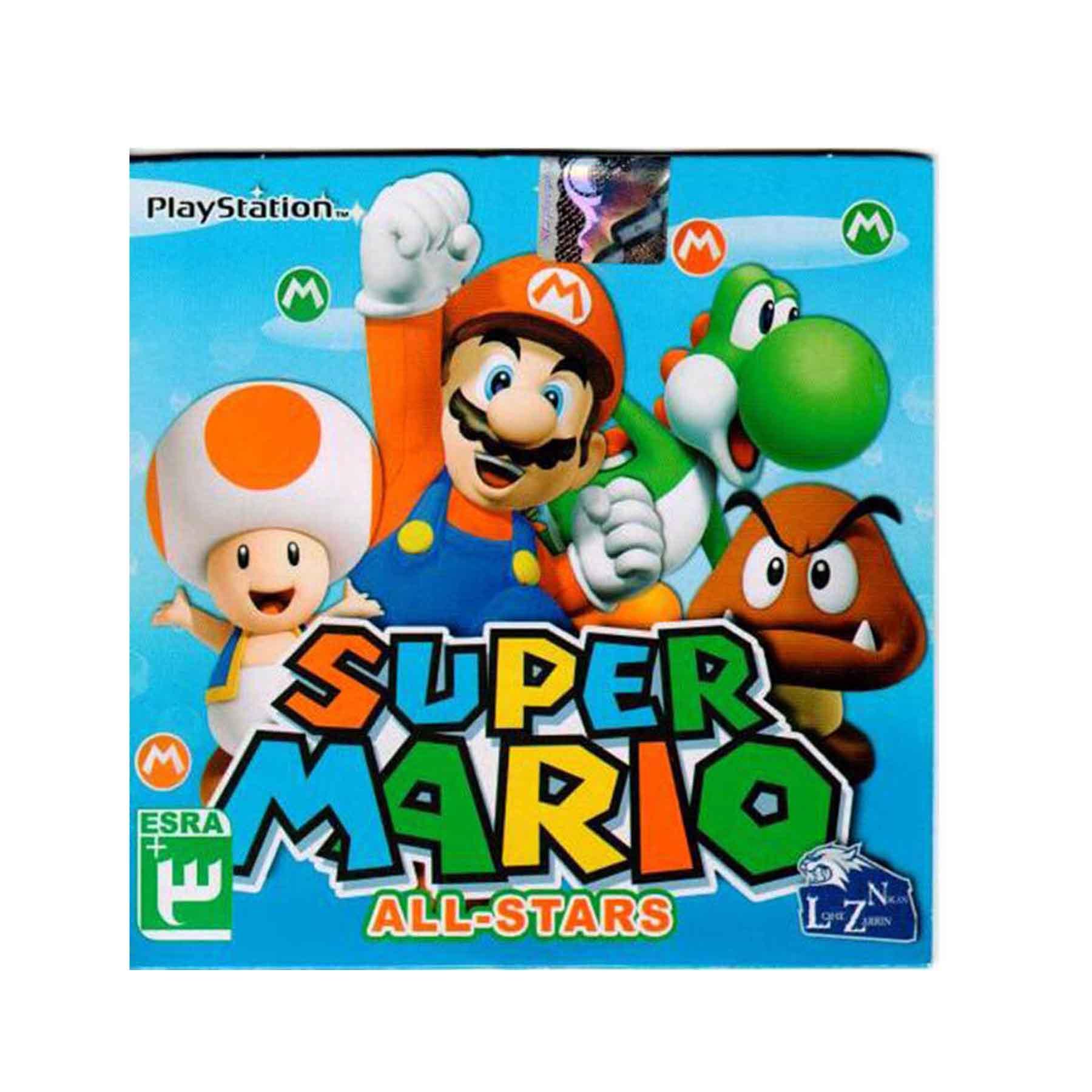بازی SUPER MARIO مخصوص Paly Station1