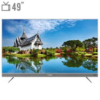 تصویر تلویزیون 49 اینچ ایکس ویژن مدل XTU725 X.Vision 49XTU725 TV