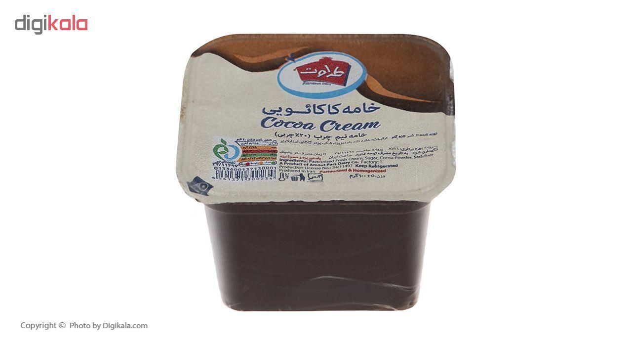 خامه کاکائویی طراوت مقدار 100 گرم main 1 1