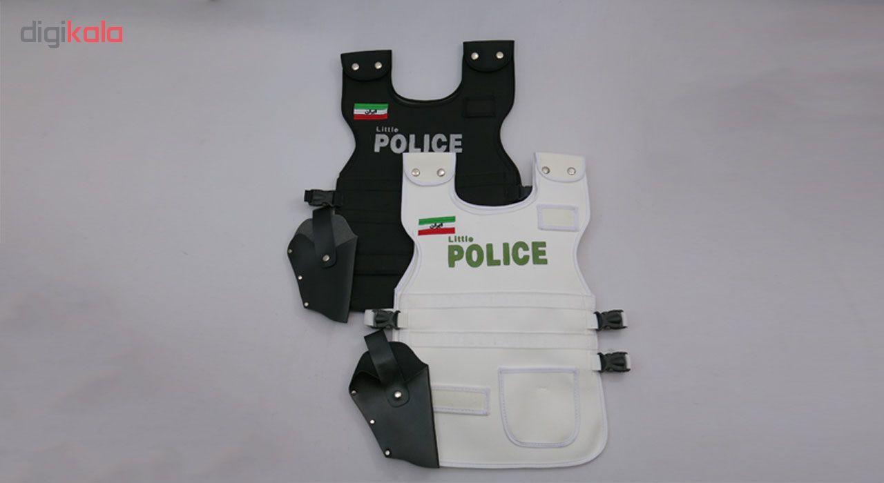 تن پوش کودک طرح Little Police main 1 2