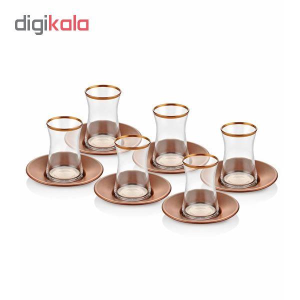 سرویس چایخوری 12پارچه  دمیا کد GLM0002