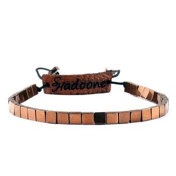 دستبند مردانه شادونه مدل sh4