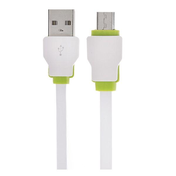 کابل تبدیل USB به microUSB الدینیو مدل LS-073U طول 0.3 متر