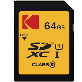 کارت حافظه SDXC کداک مدل PREMIUM کلاس 10 استاندارد U1 سرعت 85MBps ظرفیت 64 گیگابایت