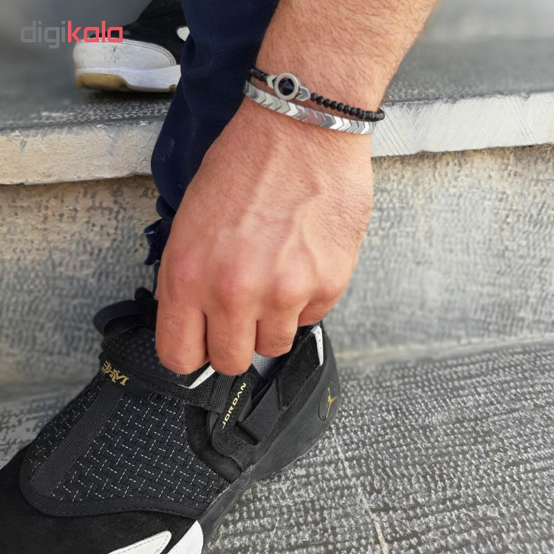 دستبند مردانه شادونه مدل sh2R
