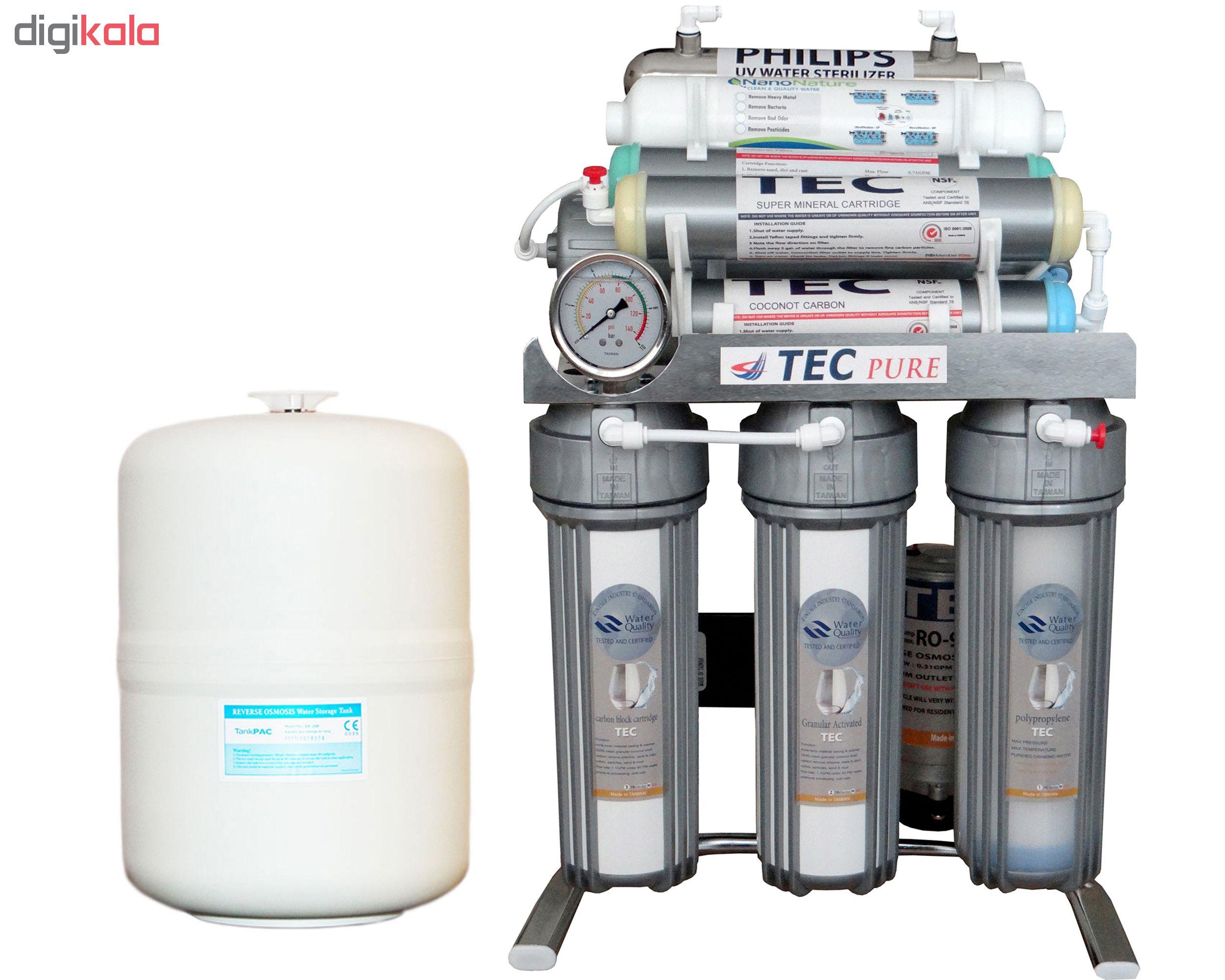 دستگاه تصفیه کننده آب خانگی تک مدل CHROME2019-XT8600