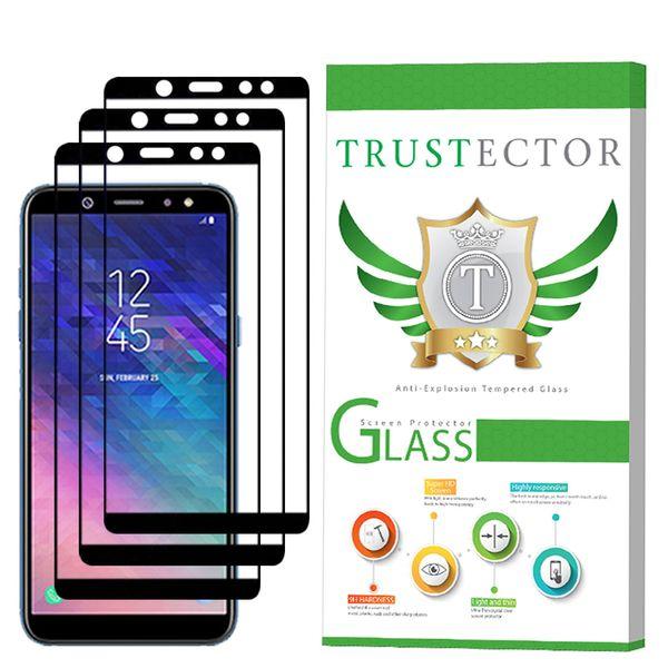 محافظ صفحه نمایش تراستکتور مدل GSS مناسب برای گوشی موبایل سامسونگ Galaxy A6 2018 بسته 3 عددی