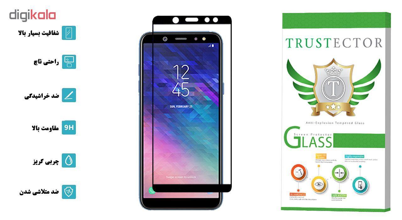 محافظ صفحه نمایش تراستکتور مدل GSS مناسب برای گوشی موبایل سامسونگ Galaxy A6 2018 main 1 2