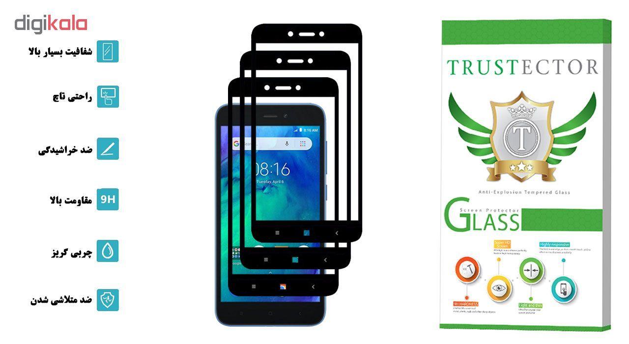 محافظ صفحه نمایش تراستکتور مدل GSS مناسب برای گوشی موبایل شیائومی Redmi Go بسته 3 عددی main 1 2