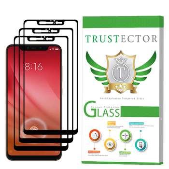 محافظ صفحه نمایش تراستکتور مدل GSS مناسب برای گوشی موبایل شیائومی Mi 8 بسته 3 عددی