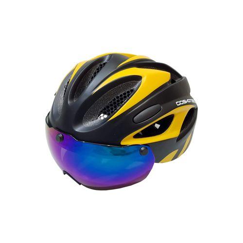 کلاه ایمنی دوچرخه سواری مدل k113 به همراه عینک