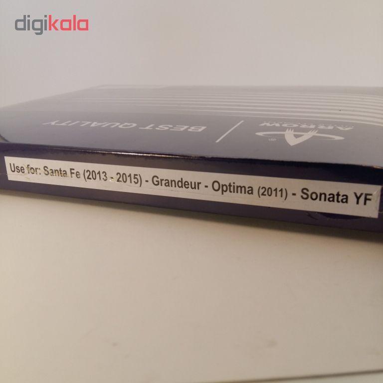 فیلتر کابین خودرو آرو مدل 3SAA0 مناسب برای سانتافه و گرنجو و اپتیما و سوناتا وای اف main 1 3