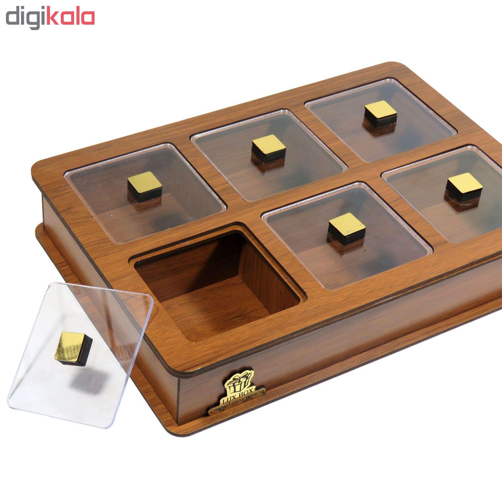 جعبه پذیرایی لوکس باکس مدل LB11 main 1 1