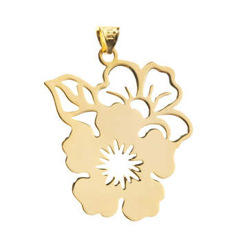 آویز گردنبند طلا 18 عیار زنانه کد DG051