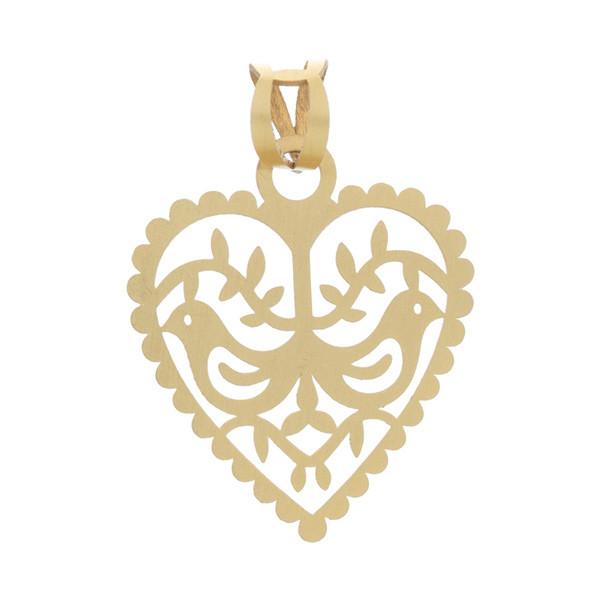 آویز گردنبند طلا 18 عیار زنانه کد DG052