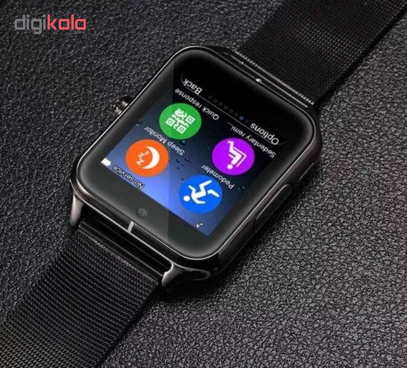 ساعت هوشمند مدل smrt120 به همراه بند main 1 4