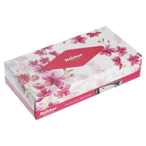دستمال کاغذی 100 برگ هوبار مدل Flower