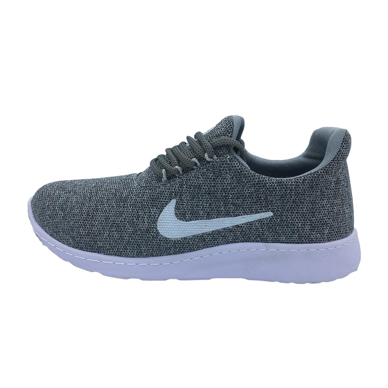 کفش مخصوص پیاده روی مردانه مدل N100 رنگ طوسی