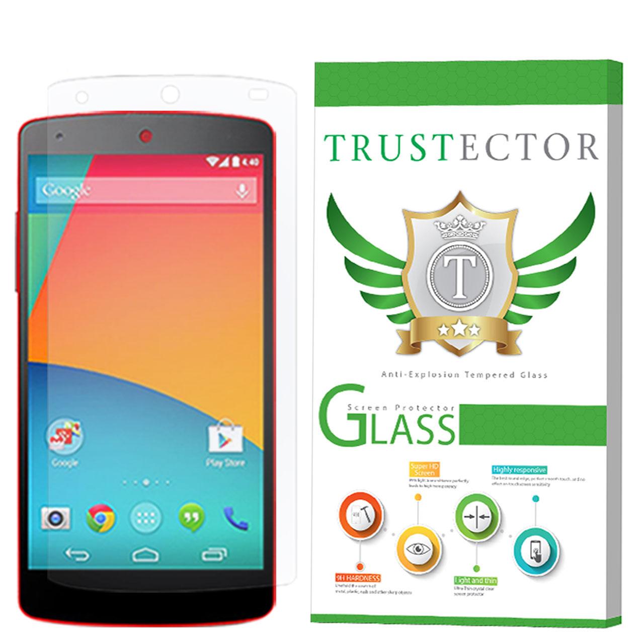 محافظ صفحه نمایش تراستکتور مدل GLS مناسب برای گوشی موبایل ال جی Nexus 5