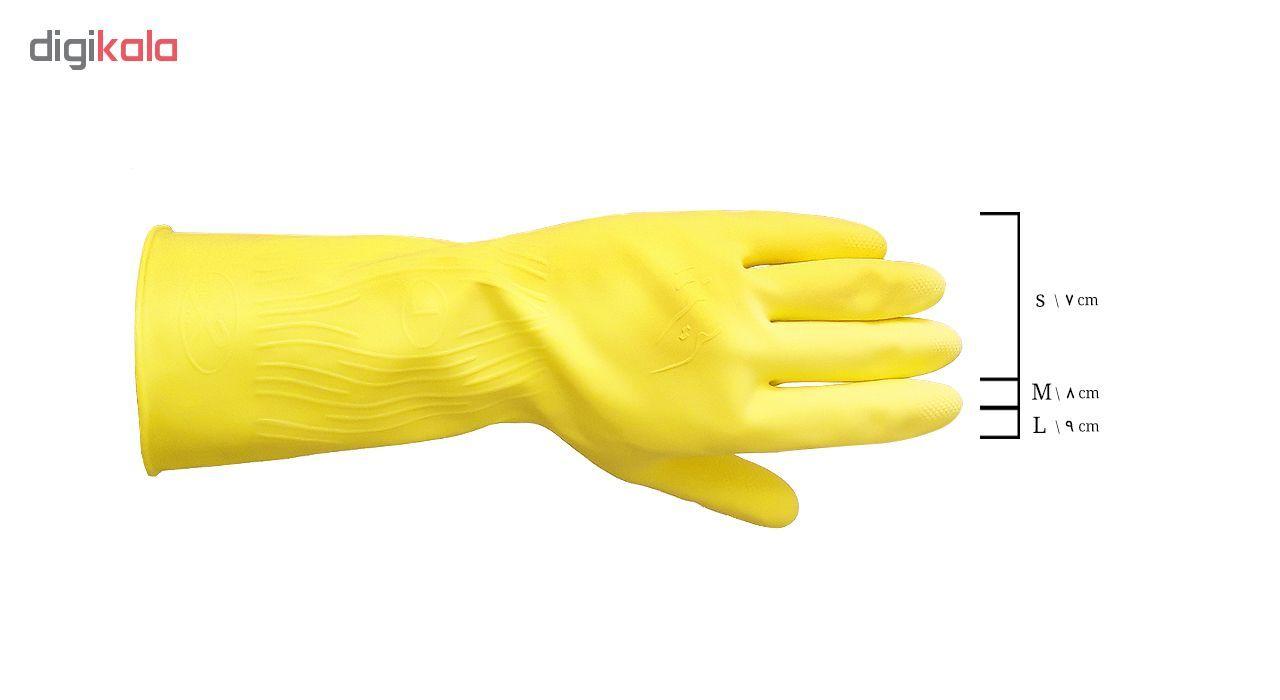 دستکش آشپزخانه رزمریم مدل Rose-S main 1 2