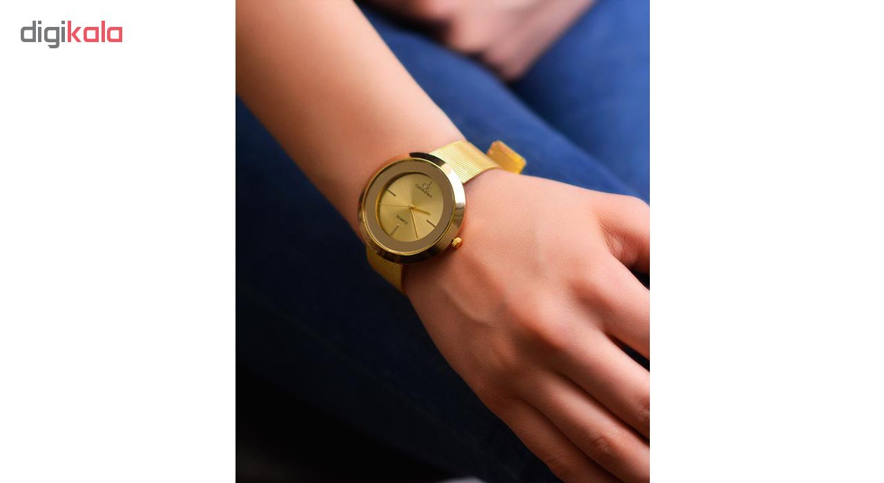 ساعت مچی عقربه ای زنانه کد A02-GL
