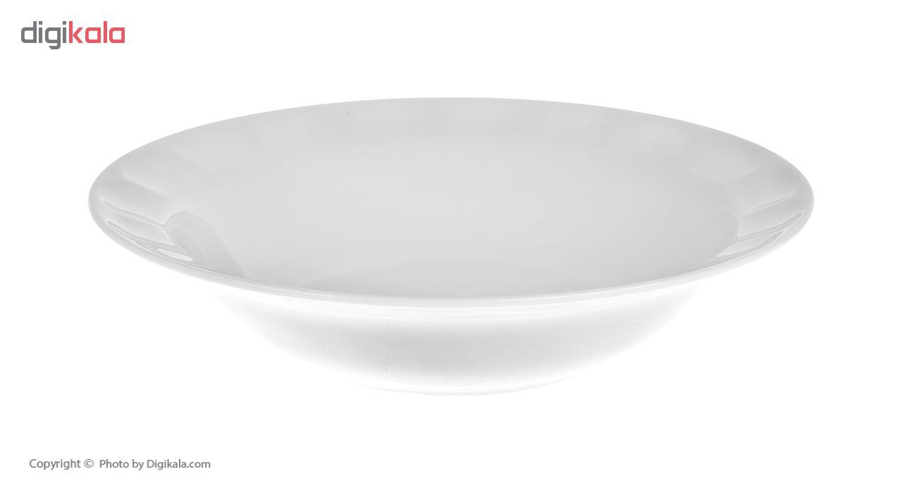 سرویس غذاخوری 29 پارچه چینی زرین ایران سری نئوکلاسیک مدل Simple درجه عالی