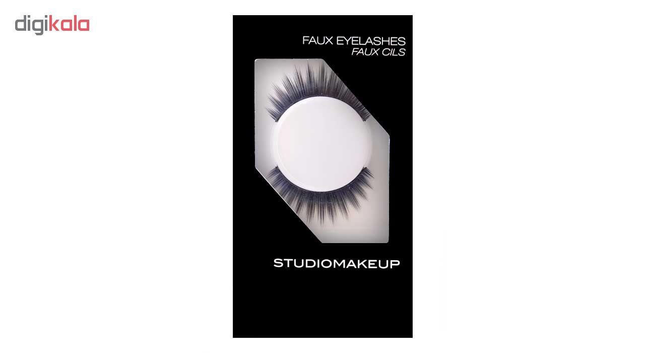مژه مصنوعی استودیو میکاپ شماره SFL-06
