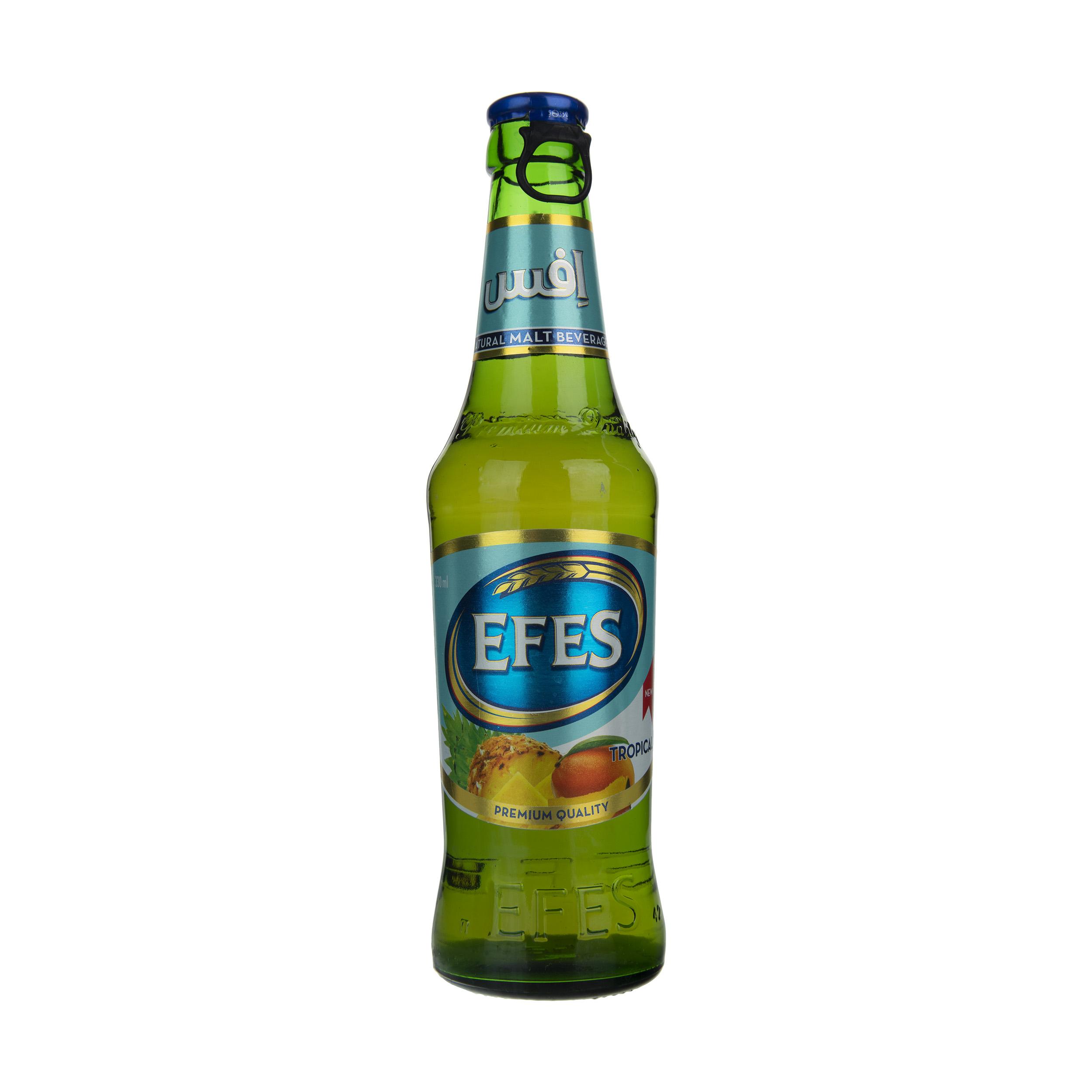 نوشیدنی مالت با طعم استوایی افس - 330 میلی لیتر